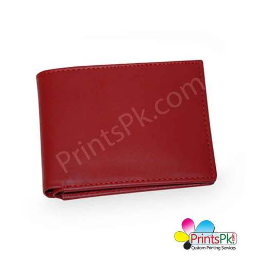 Red Plain Wallet