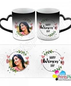 Customized picture changing magic mug