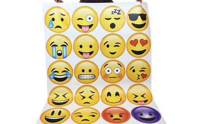 Emoji Wall Art Printed Products Print Star
