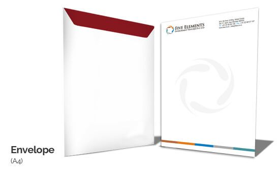 Custom A4 Size Envelope Printing Online