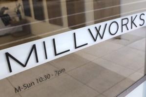 Millworks Window Decal
