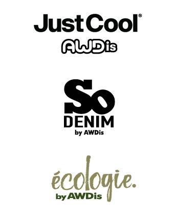 Écologie by AWDis, Just Cool by AWDis & So Denim by AWDis
