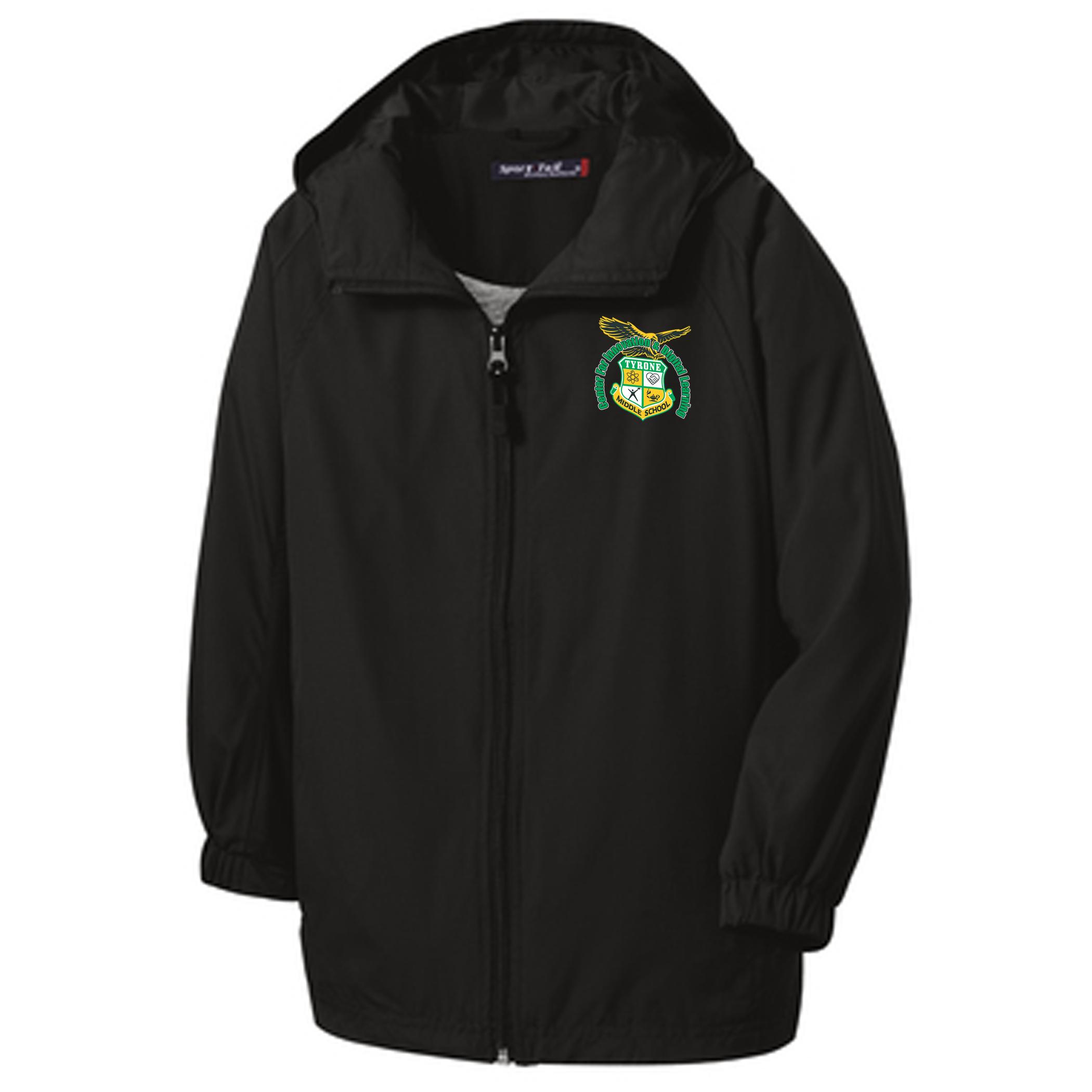 Sport-Tek® Hooded Raglan Jacket