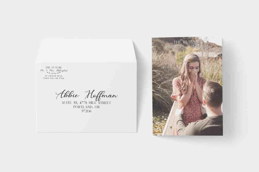 Invitation Envelope 1 - PrintWow