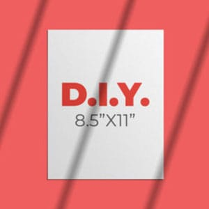 """DIY 8.5"""" x 11"""" Products by Print Wow"""