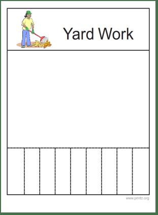 Yardwork Flyer