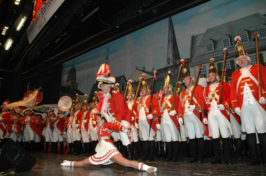 Tanzpaar der Prinzengarde – Ira Mletzko und Christoph Spiluttini