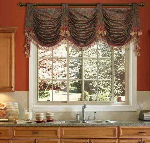Wood Valance Over Kitchen Sink: Valances Over Kitchen Sinks