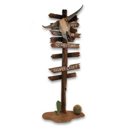 wood directional sign 2