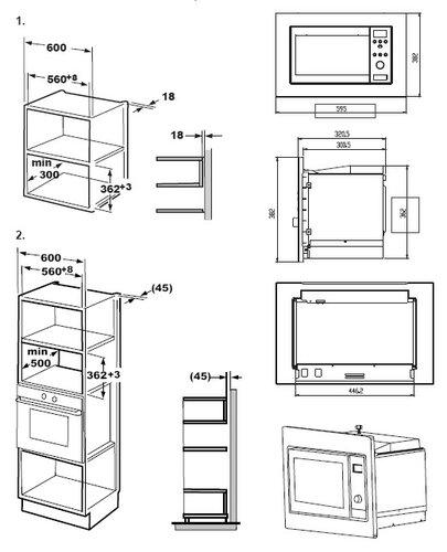 Priručnik Beko MOB17131X (24 stranica)
