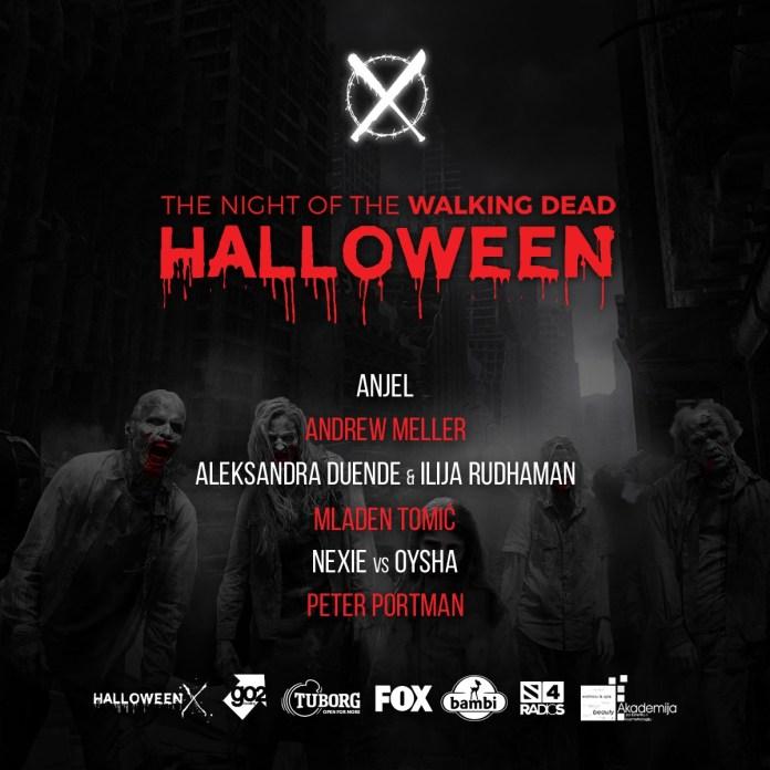 Halloween X artists