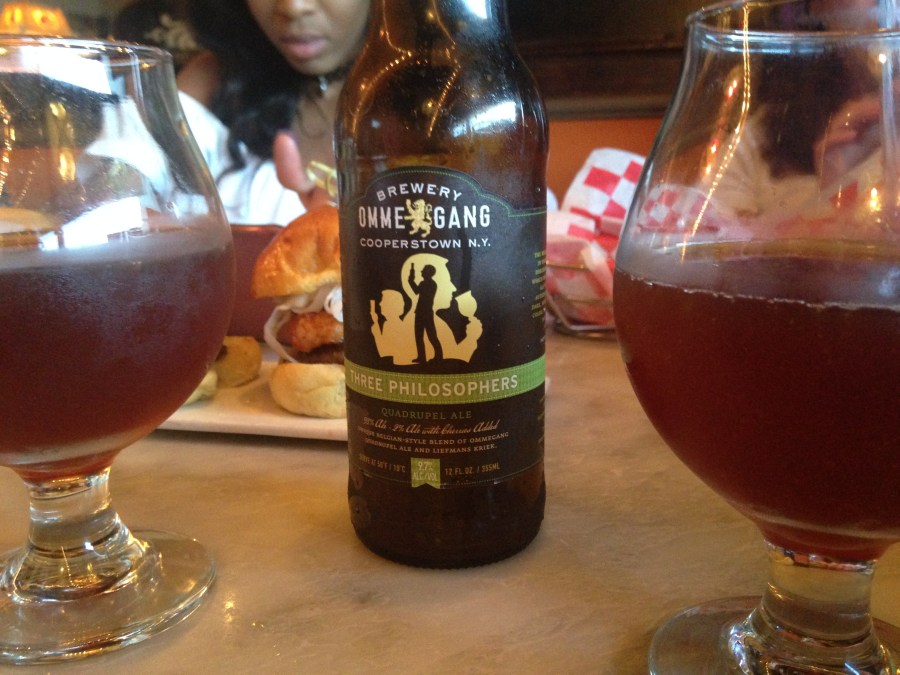 Swensen's New Craft Beer Menu Featuring Ommegang's Three Philosophers