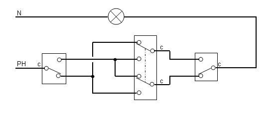Enigme Probleme D Electricien Va Et Vient A Trois Interrupteurs Prise2tete