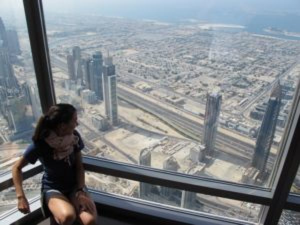 Burj Khalifa, la torre más alta del mundo