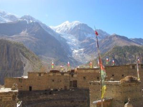 Manang, ruta de los Annapurnas