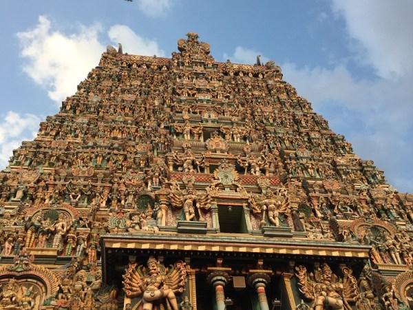 templo Meenakshi en Madurai