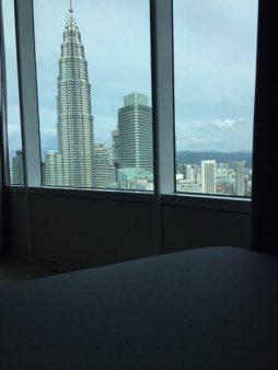 vistas a las Petronas