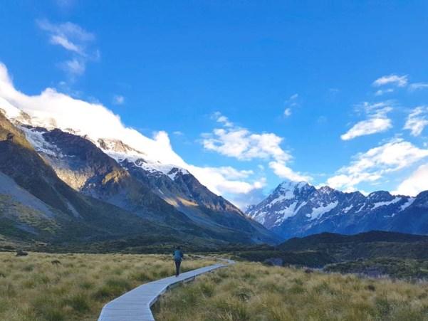 trekking new zeland