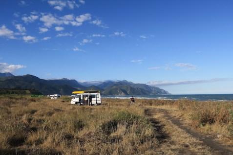 camping kaikoura