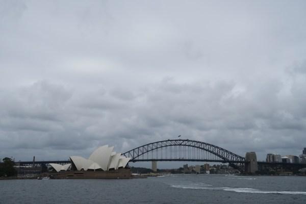 famosas vistas de Sydney