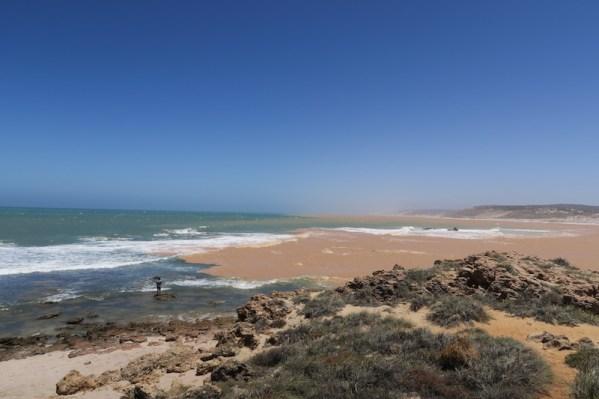 Kalbarri pueblo y su pink beach