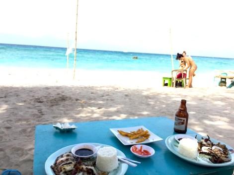 comida Langob Beach