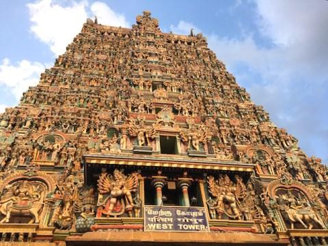 Meenaskshi templo en Madurai