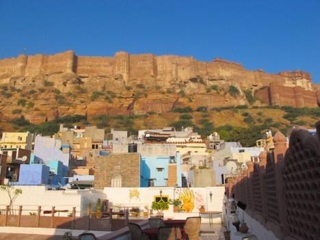 Vistas al Mehrangarh Fort en Jodhpur