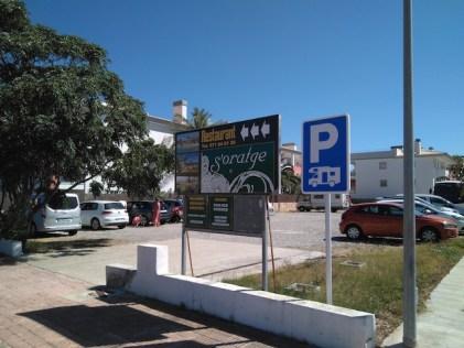 Supuesta área de servicio del municipio de Son Servera