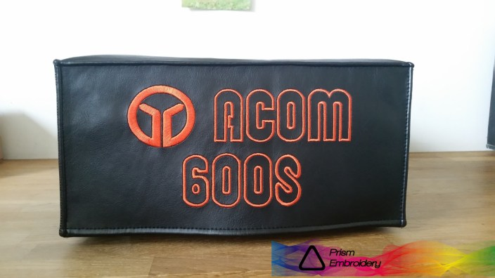 DX Covers radio dust cover for the Acom 600S