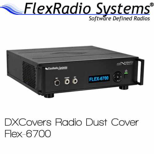 FlexRadio Systems 6700 Prism Embroidery Radio Dust Covers shop logo