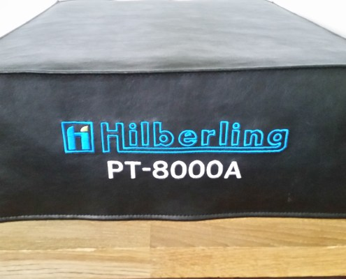 DX Covers radio dust cover for the Hilberling PT-8000A