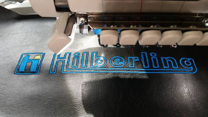 Hilberling DX Cover embroidery
