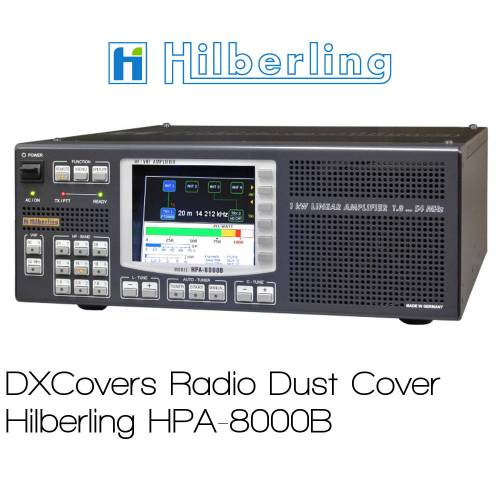 Hilberling HPA-8000B Prism Embroidery Radio Dust Covers shop logo