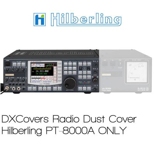 Hilberling PT-8000A only Prism Embroidery Radio Dust Covers shop logo