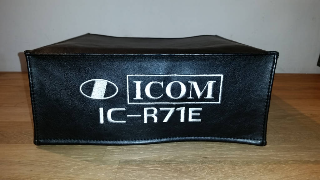 DX Covers radio dust cover for the ICOM IC-R71E