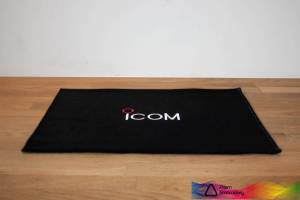 Icom Black Shack Mat