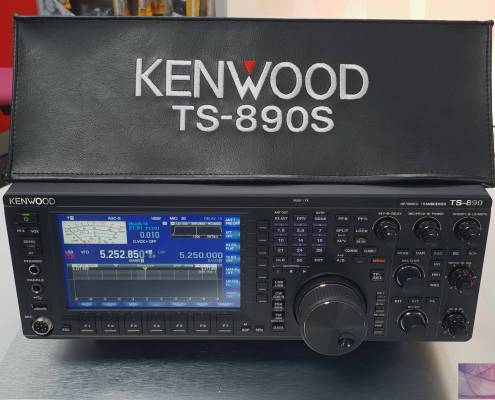 Kenwood TS-890S radio dust cover prism embroidery