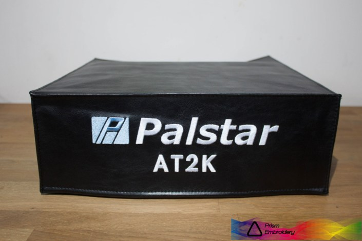 DX Covers radio dust cover for the Palstar AT2K