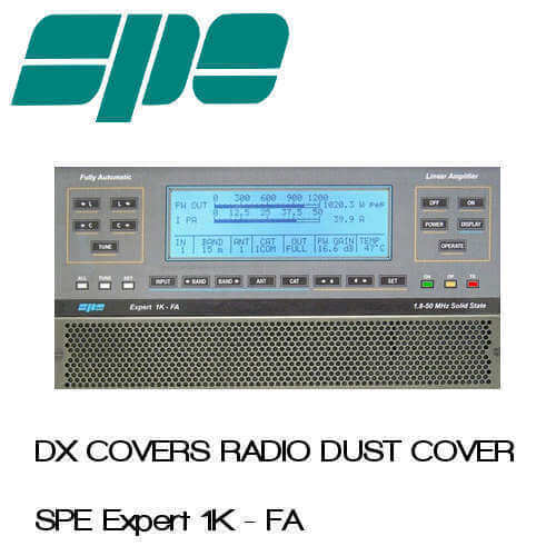 SPE Expert 1K-FA Prism Embroidery Radio Dust Covers shop logo