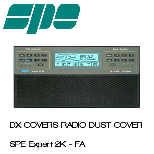 SPE Expert 2K-FA Prism Embroidery Radio Dust Covers shop logo