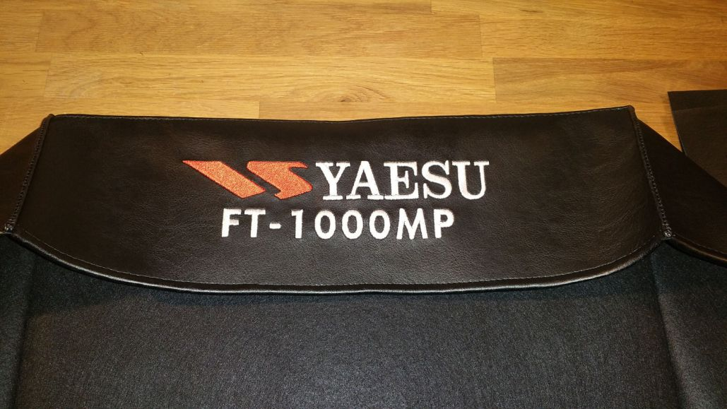 DX Covers radio dust cover for the Yaesu FT-1000MP