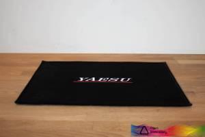 Yaesu Black Shack Mat
