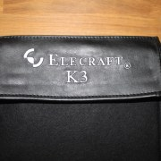 DX Covers radio dust cover for the Elecraft K3