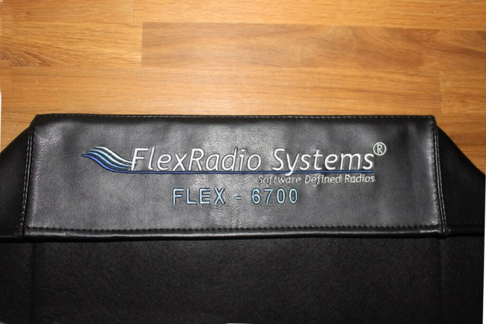 DX Covers radio dust cover for the FlexRadio Systems 6700