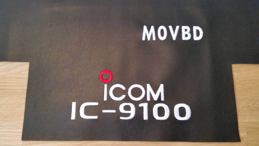 Icom IC-9100 DX Covers Radio dust cover being made