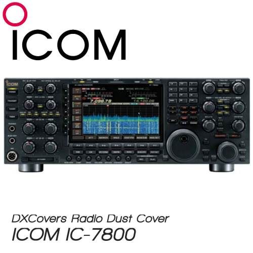 ICOM IC-7800 Prism Embroidery Radio Dust Covers shop logo