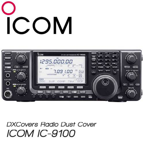 ICOM IC-9100 Prism Embroidery Radio Dust Covers shop logo