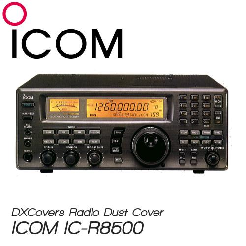 ICOM IC-R8500 Prism Embroidery Radio Dust Covers shop logo