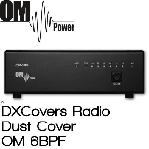 OM Power OM6BPF Prism Embroidery Radio Dust Covers shop logo